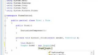 C# Form To Form Control Revised