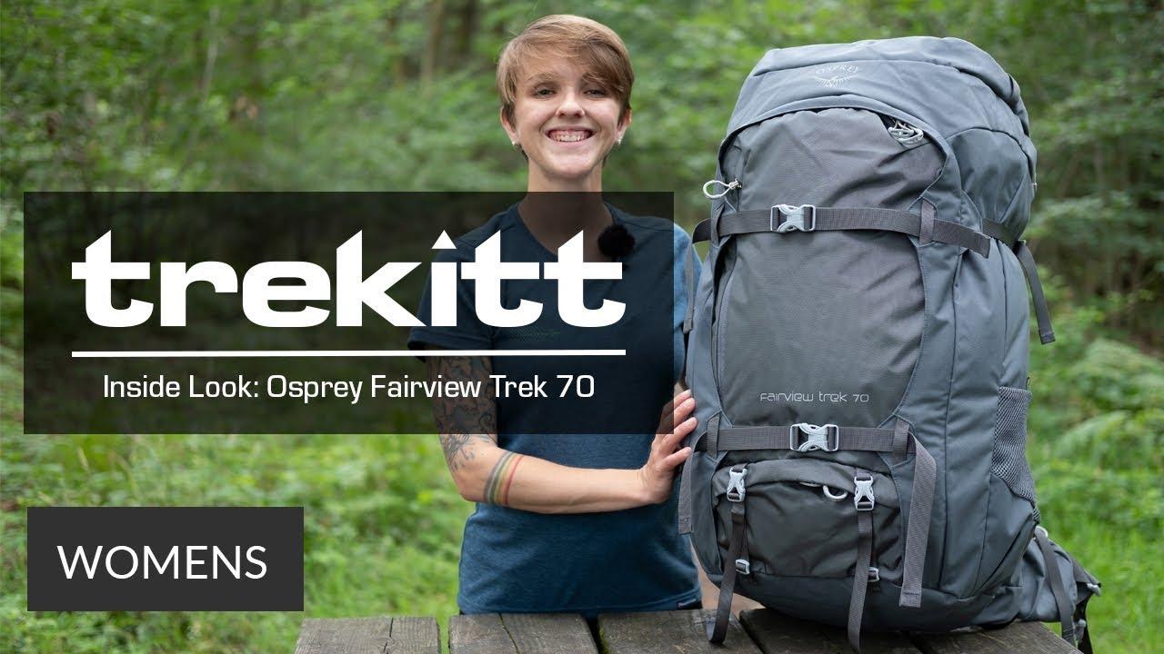 Osprey Damen Trekking Rucksack Fairview Trek 70