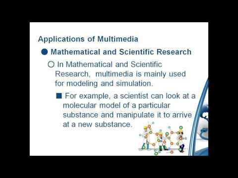 Application of multimedia