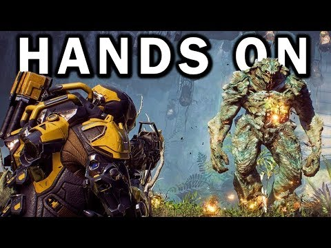 ANTHEM HANDS ON! - New Gameplay! - First Impressions! - New Info!