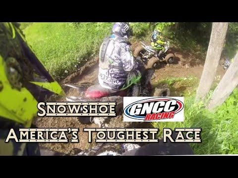 2015 GNCC Snowshoe West Virginia Atv Open C 10 Am Race GoPro Hero 3 Hare Scramble AMA