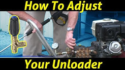 How to Adjust an Unloader with Larry Hinckley from PowerWash.com