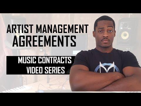 Music Artist Management Agreements