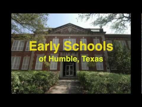 Early Schools of Humble, Texas