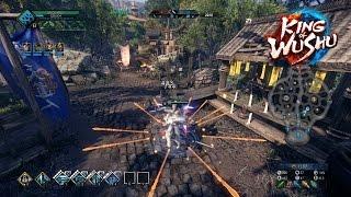 """King of Wushu (CN) - """"White Swordsman"""" Master Gongsun gameplay (AI mode)"""