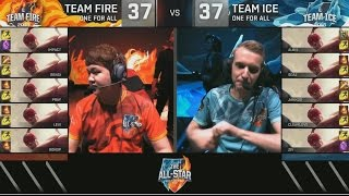 [ 10 Lee Sin ] Ice VS Fire One For All Mode - 2016 All-Stars Day 3