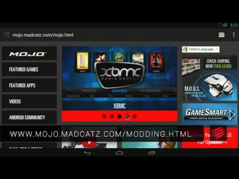 M.O.J.O. Micro-Console For Android Walkthrough by Mad Gypsiie