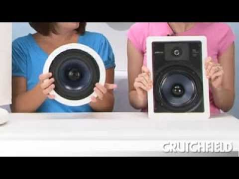 Polk Rci Series In Wall And In Ceiling Speakers Crutchfield Video