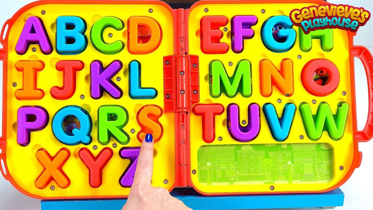 Teach Toddlers Letters And Alphabet Sounds  Youtube