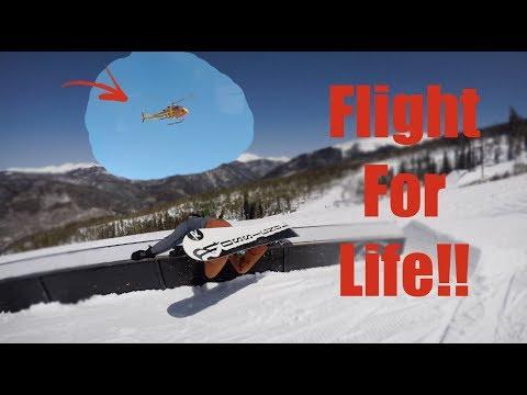 The Worst Snowboard Fall EVER!!! - Keystone Colorado - (Day 56, Season 2)