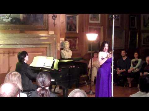Ying Huang Ken Noda - Puccini La Boheme - Quando m'en vo