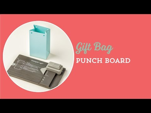 How to Make Paper Gift Bags |Gift Bag Punch Board | Stampin' Up!