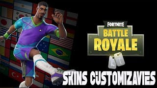 FORTNITE (LEAKED) NEW CUSTOMIZABLE FOOTBALL UNIFORMS SKINS