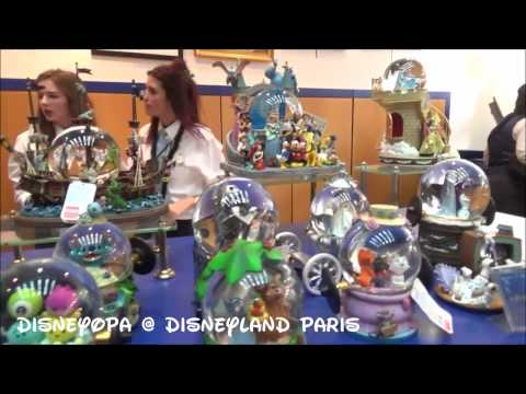 Disneyland Paris The Disney Gallery Disney Village Shop DisneyOpa walkthrough