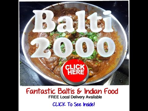 Best Balti Indian Take Away in Solihull Shirley Hall Green - Balti 2000 Free delivery