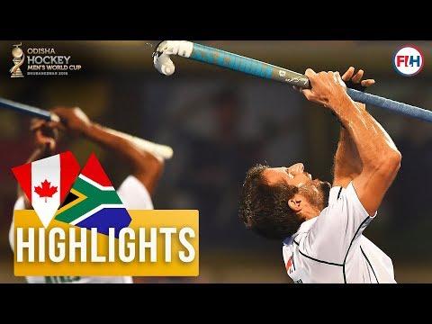 Canada v South Africa | Odisha Men's Hockey World Cup Bhubaneswar 2018 | HIGHLIGHTS