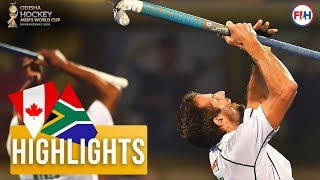 Canada v South Africa | Odisha Men's Hockey World Cup Bhubaneswar 2018 | HIGHLIGHTS