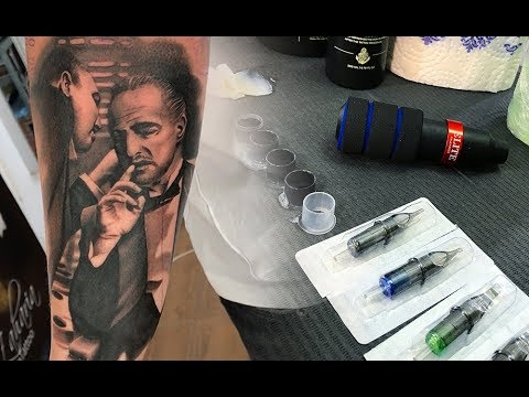 Godfather - Tattoo time lapse