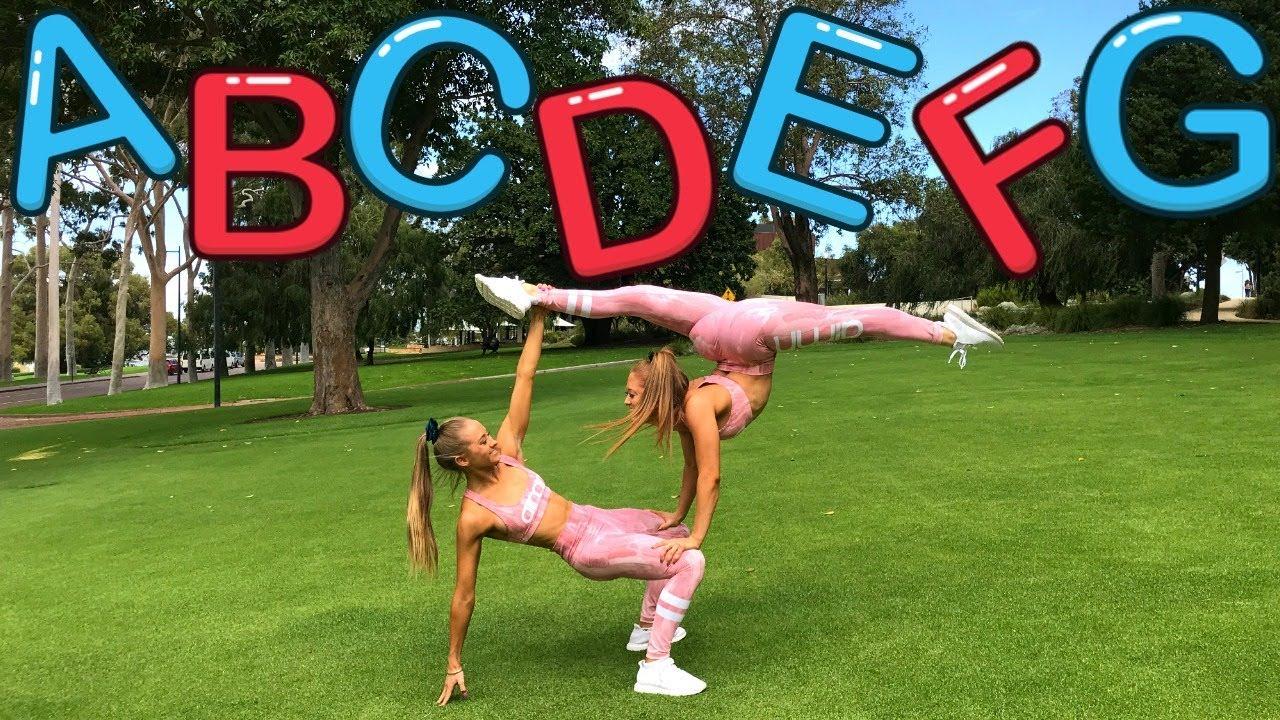 Download Alphabet Acro Gymnastics Dance Challenge