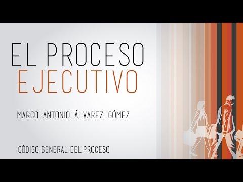 El Proceso Ejecutivo.   Código General del Proceso