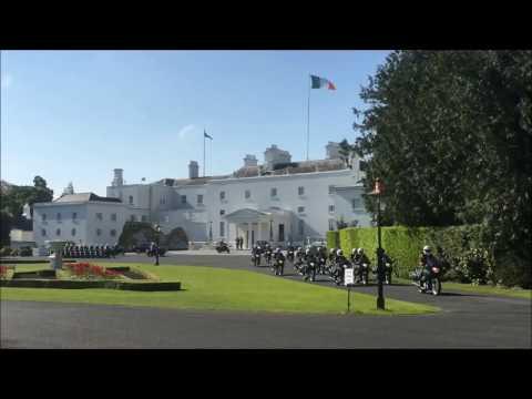 President leaves Áras an Uachtaráin for State commemoration ceremony