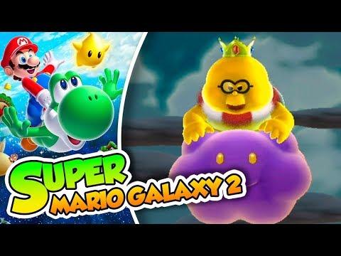 ¡El ataque del Rey Lakitu! - #02 - Super Mario Galaxy 2 en Español (WiiU) DSimphony