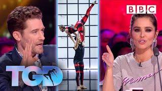 Matthew VS Cheryl SAVAGE as Harry & Eleiyah smash four walls challenge - The Greatest Dancer | LIVE