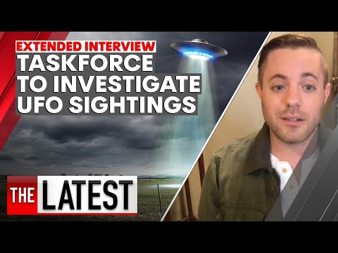 New taskforce to investigate UFO sightings | 7NEWS