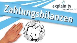Zahlungsbilanzen einfach erklärt (explainity® Erklärvideo)
