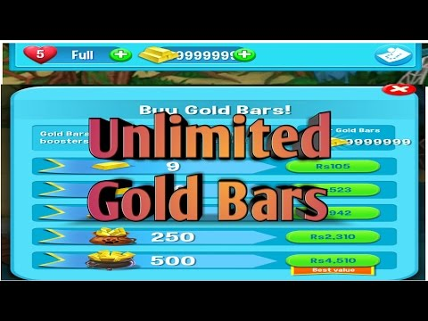 Pet Rescue Saga Hack - Unlimited Gold Bar Android 2016 - YouTube