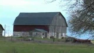 Barns and Cows in Door County Wisconsin