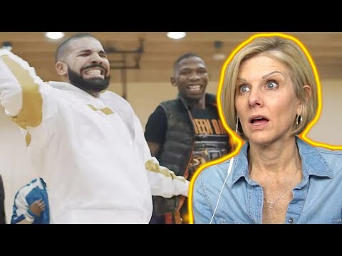 "Mom REACTS to BlocBoy JB & Drake ""Look Alive"""