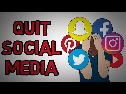 Why You Should Quit Social Media - Why It's Bad For You (animated)