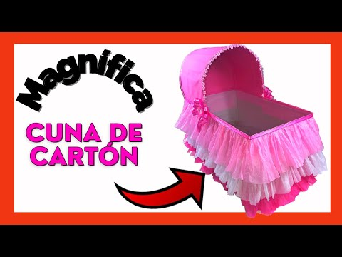 Cuna Para Regalos De Baby Shower Nino.Caja Regalos Cuna Baby Shower Box Gifts Baby Shower