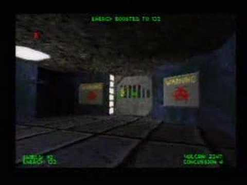 Descent PSX - Opening, Level 1