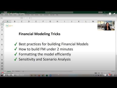 Financial Modeling Webinar