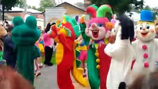 Открытие обновленного Детского парка в Ельце