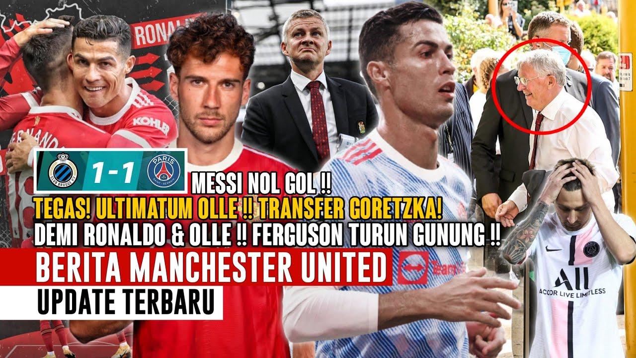 Download FERGUSON TURUN GUNUNG❗Demi CR7 & Olle 😲 Ultimatum Olle 🧐 Messi 0 Gol! CR7 3 😍 Transfer Goretzka 📝