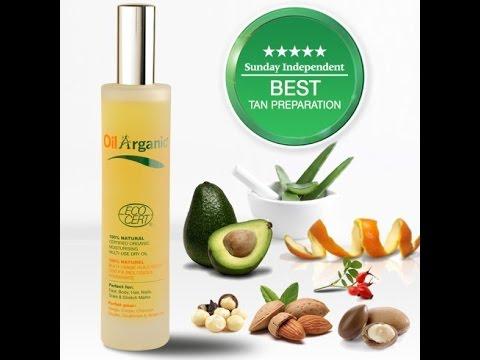 Tan Organic Multi Use Dry Oil - Πολυχρηστικό Έλαιο για Πρόσωπο, Σώμα & Μαλλιά!