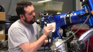 how to apply decals on your honda ct70