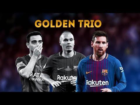 Xavi, Iniesta & Messi ● Golden Trio [TIKI TAKA]