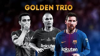Xavi, Iniesta &amp Messi Golden Trio [TIKI TAKA]