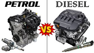 PETROL vs DIESEL Engines - An in-depth COMPARISON