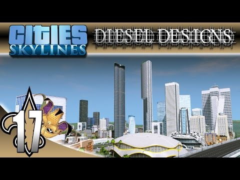 Cities: Skylines: S4E17: Starting the Financial District! (City Building Series)