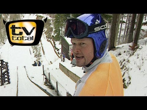 Raab in danger in ski jumping  TV totally