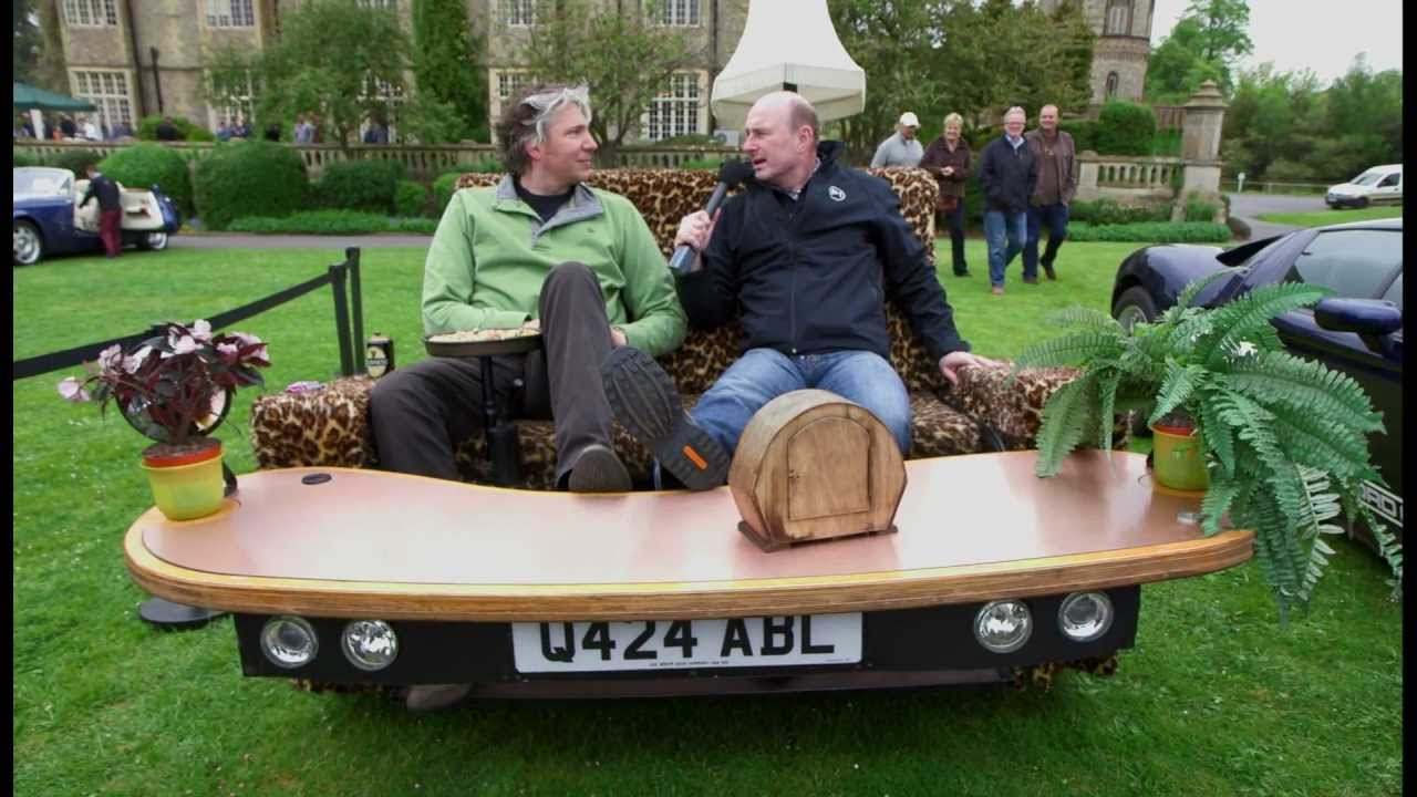 Edd China's Sofa Car