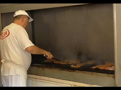 Черногория  Цены в супермаркете Бесплатная услуга - мясо на гриле