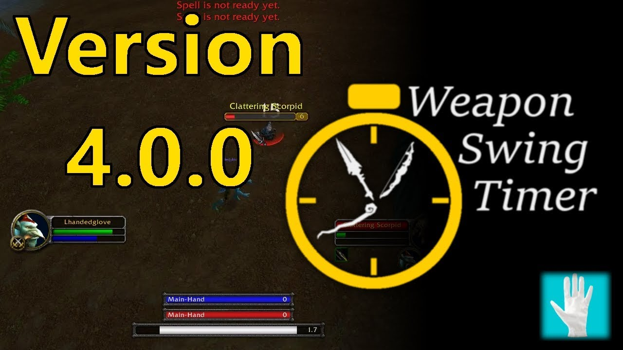 WeaponSwingTimer - Addons - World of Warcraft - CurseForge
