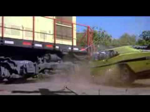 Train Crash scene - Dirty Mary Crazy Larry 1974