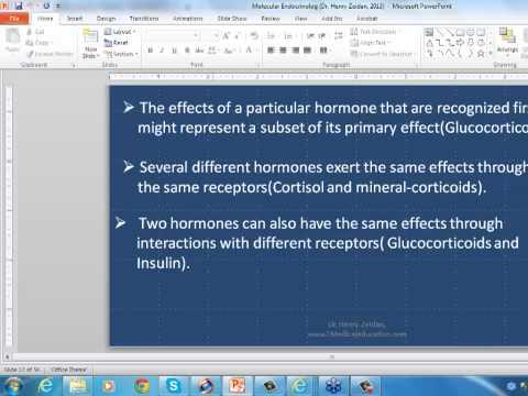 Global Medical Education, Part III. Endocrinology, Dr. Henry Zeidan 10152013